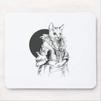 victorian cat final mouse pad