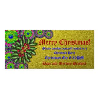 Victorian Christmas Invitation