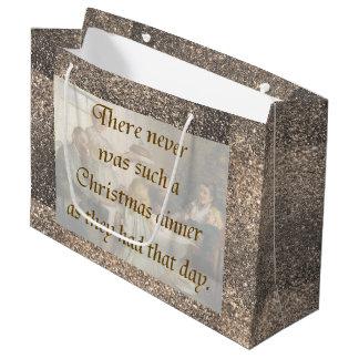 Victorian Christmas Large Gift Bag