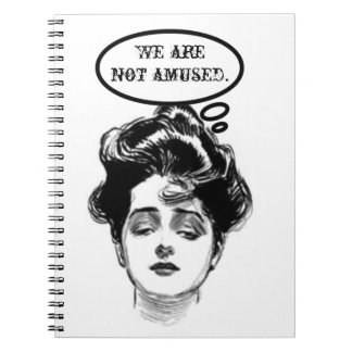 Victorian Diva Humor Notebooks