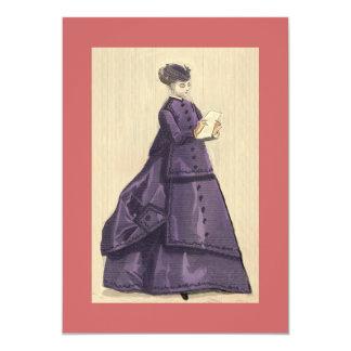 Victorian Dress Invitation