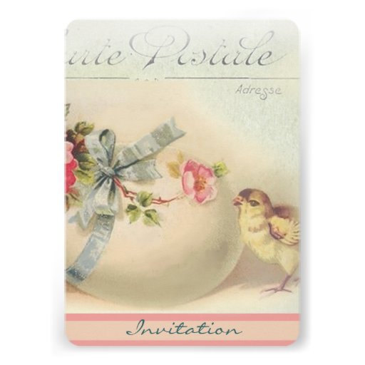 Victorian Easter chic and egg Cards
