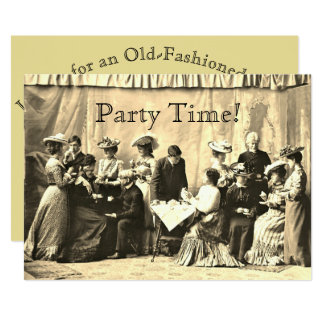 Victorian Gathering Party Invitations