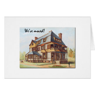 Victorian House We've Moved Announcement