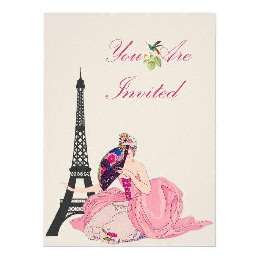 Victorian Paris Announcements