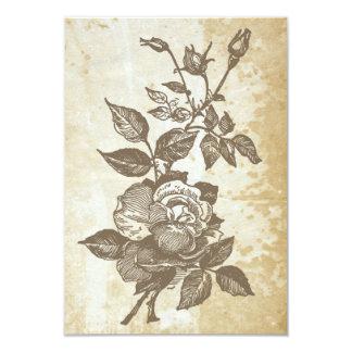 Victorian Rose Invitation