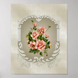 Victorian Roses Mini Poster