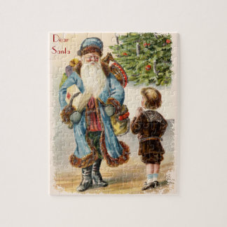 Victorian Santa Claus and Boy Puzzle