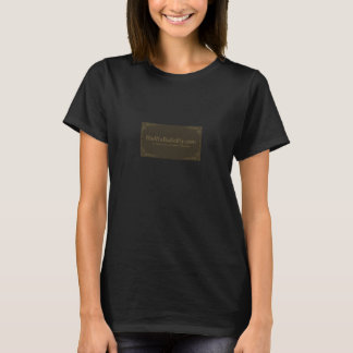 Victorian Sepia ladies T-Shirt