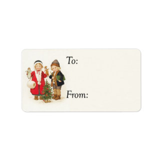 Victorian Village Chilren Gift Tag