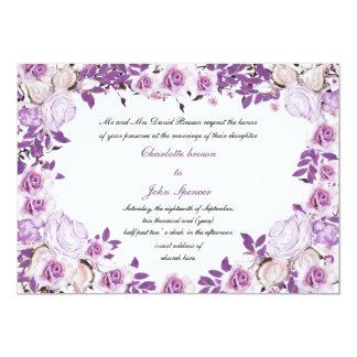 victorian vintage roses wedding  Invitations