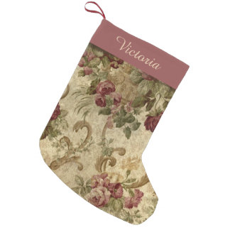 Victorian Vintage Wine Floral with Name