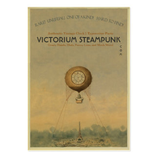 Victorium Steampunk Business Card Templates