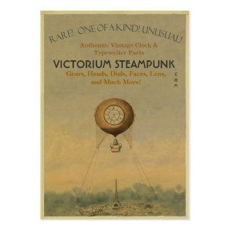 Victorium Steampunk Business Card Template