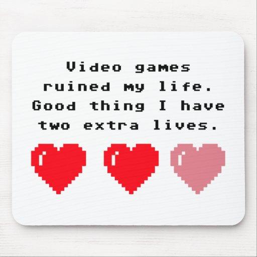 Video Games Geek Mousepads