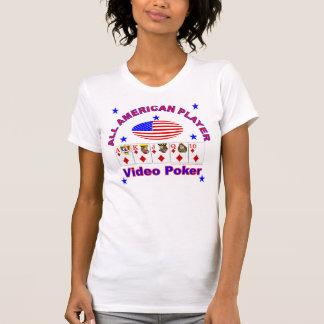 Video Poker ALL AMERICAN PLAYER Tshirt