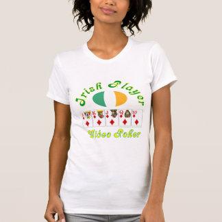 Video Poker, Irish Player Tee Shirts