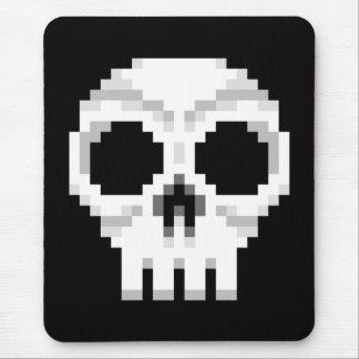 Videogame Death Skull - Pixel Art Mouse Pad