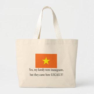 Vietnam Large Tote Bag