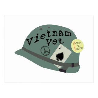 Vietnam Vet Postcard