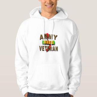 Vietnam War Veteran Service Ribbon, ARMY Hoodie
