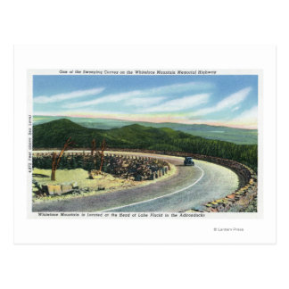 View a Sweeping Curve of the Memorial Hwy Postcard