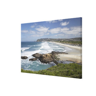 View from Lawyers Head along St Kilda and St Stretched Canvas Prints
