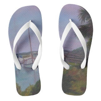 VIEW FROM THE CROSS Flip Flops Thongs