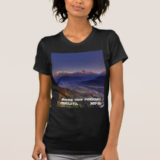 View Landscape HIMALAYA POKHARA NEPAL Shirt