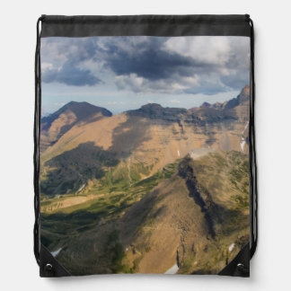 View Looking North And East From The Summit Drawstring Bag