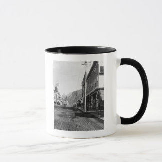 View Looking north on Broadway Street, Skagway Mug