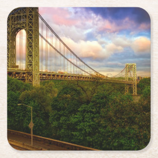 View looking South - West from Manhattan Square Paper Coaster