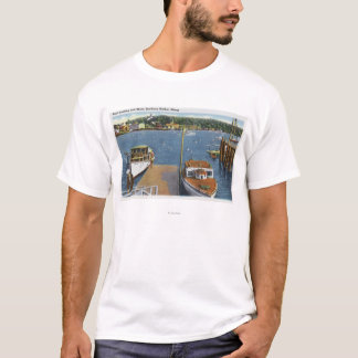 View of a Boat Landing and the Shore T-Shirt