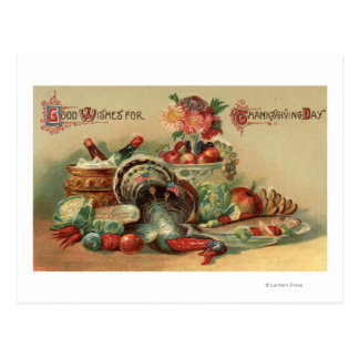 View of a Feast Post Card
