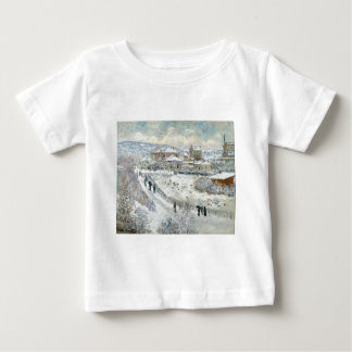 View of Argenteuil in the Snow by Claude Monet Baby T-Shirt