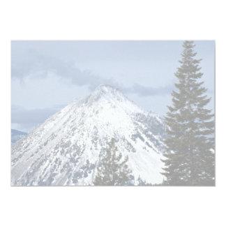 View of Black Butte from Mt. Shasta, California, U Invite