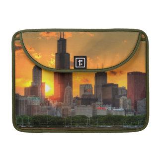 View of Chicago's skyline from  Adler Sleeve For MacBooks