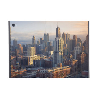 View of cityscape with fantastic light cover for iPad mini