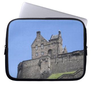 View of Edinburgh Castle, Edinburgh, Scotland, Laptop Sleeve