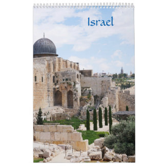 View of Israel, calendar 2018
