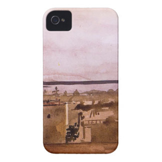 View of Naples by Edgar Degas Case-Mate iPhone 4 Case
