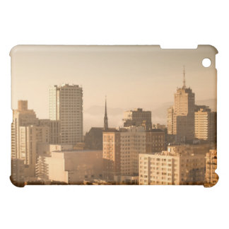 View of Nob Hill in San Francisco, with the fog iPad Mini Covers