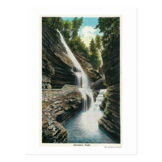 View of Rainbow Falls Postcard