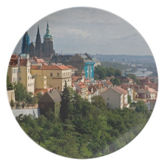 View of Saint Vitus's Cathedral, Prague, Czech Plate