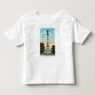 View of Soldiers and Sailors' Toddler T-Shirt