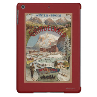 View of the Bear Hotel Promotional Poster iPad Air Covers