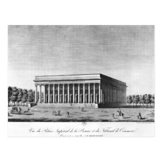View of the Bourse Imperial Palace Postcard