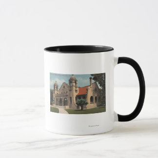 View of the Carnegie Public Library Mug