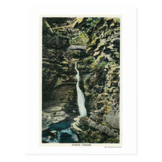 View of the Central Cascade Postcard