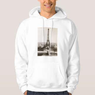 View Of The Eiffel Tower, 1900 Hoodie